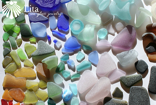 Beach Glass Safety Sea Glass Rare Sea Glass Genuine Sea Glass